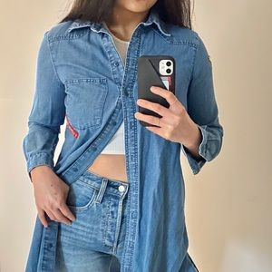 Pre-loved ZARA Soft Denim Jacket/Dress